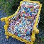 Rommets blikkfang – en herlig gjenbruk-stol
