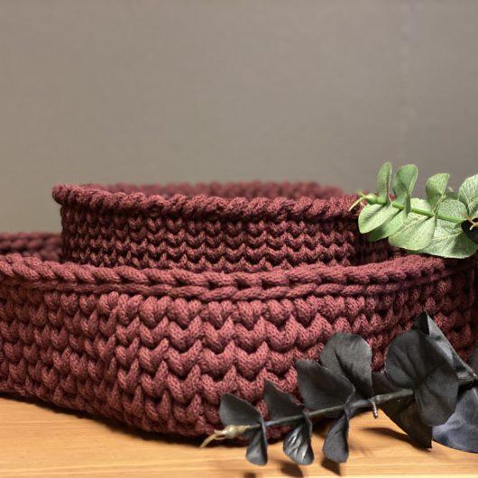 Oppskrifter Interiørgarn cotton cord